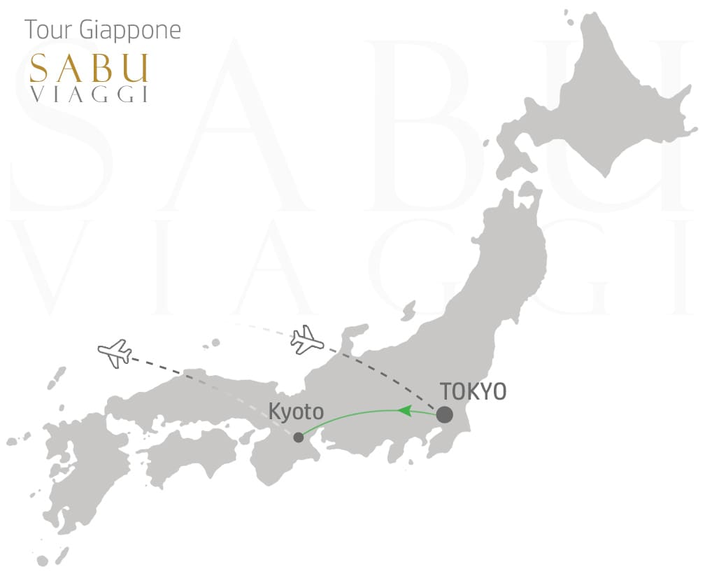 mappa-viaggio-giappone-tokyo-e-kyoto
