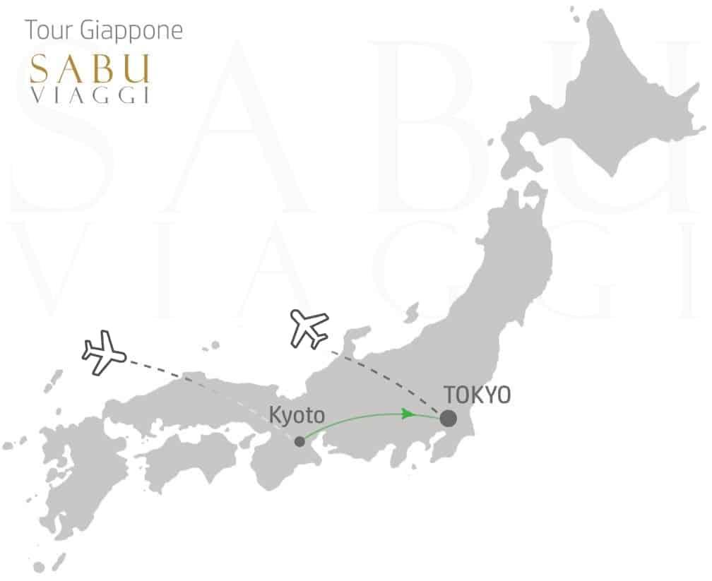 Mappa Giappone Sabu