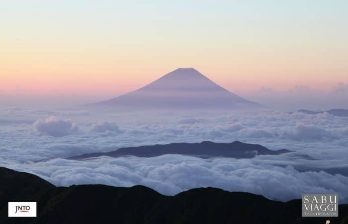 m_164485 View of Mt. Fuji from Mt. Kitadake